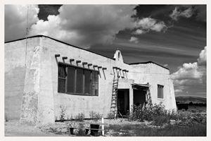 pink schoolhouse tres piedras, nm