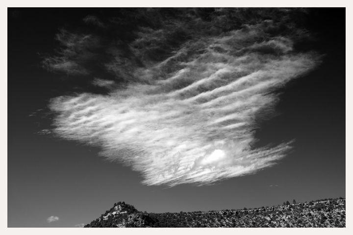 cirrus cloud over rio grande - Mark Goebel Photo Gallery