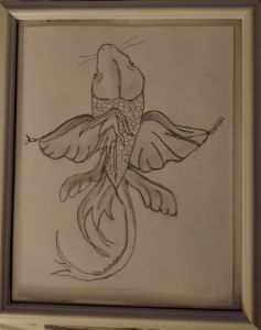 Coi fish pencil
