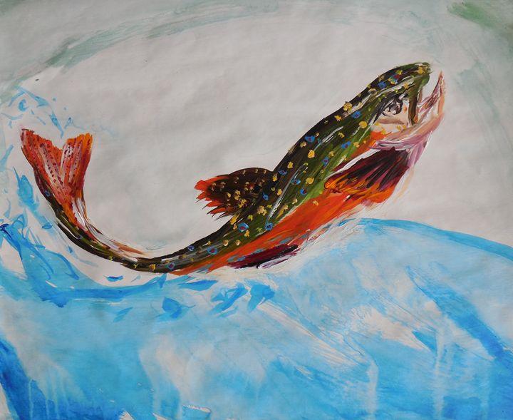Rainbow Trout - Lindsay Sthamann