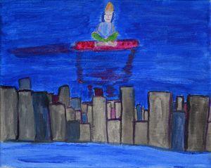 The City Sleeps and I Meditate