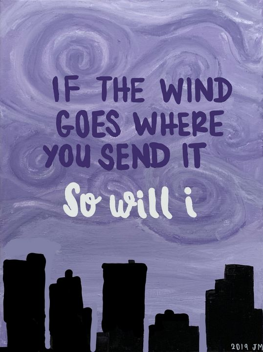 If the Wind Goes Where You Send It - Jade Malmberg