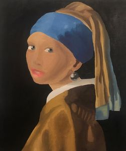 Girl With a Pearl Earring Mastercopy