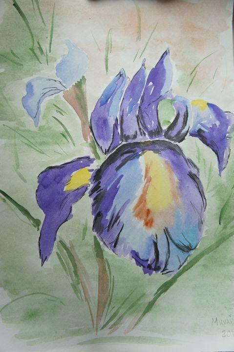 Irises - Mykhaylenko