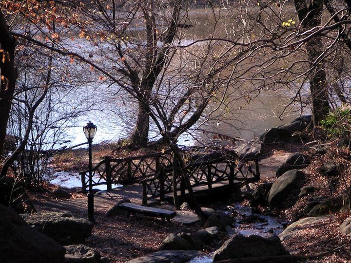 Oak Bridge at Dusk - Edsimages
