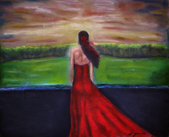Joy of medieval sunset - Alejandro D
