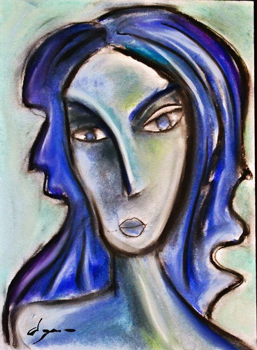Intimate Blue - Alejandro D