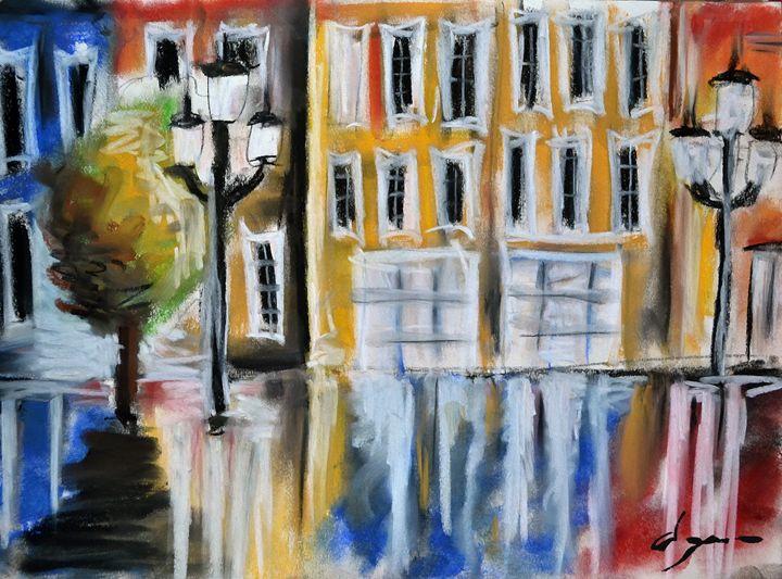 Street in Liquid - Alejandro D