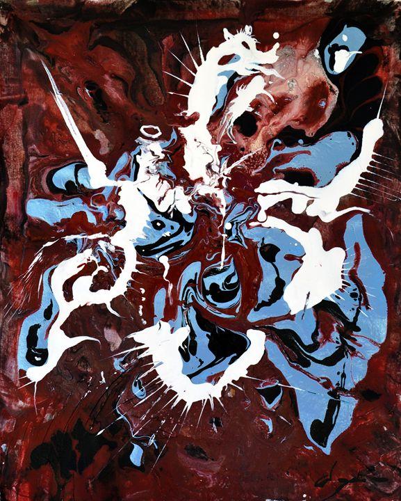 St George killing the dragon - Alejandro D