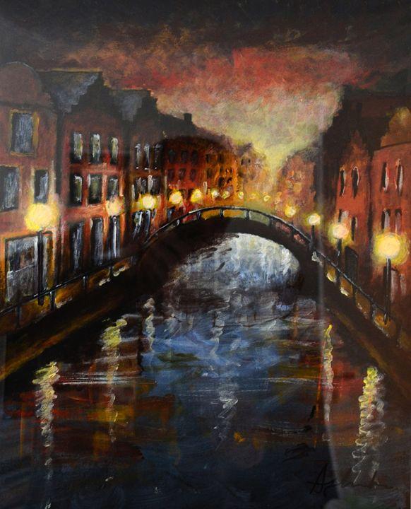 Amsterdam at night - Alejandro D