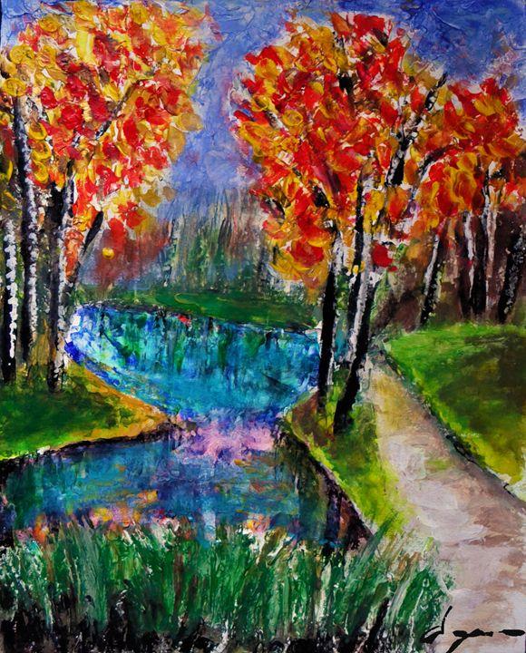 forest stream - Alejandro D