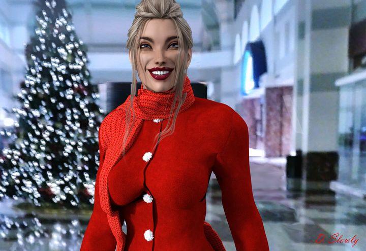 Daniella's Christmas spirit - GalleryGazers