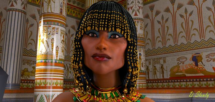 Cleopatra - Queen of the Nile - GalleryGazers