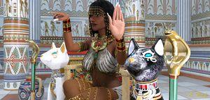 Cleopatra-Throne Room