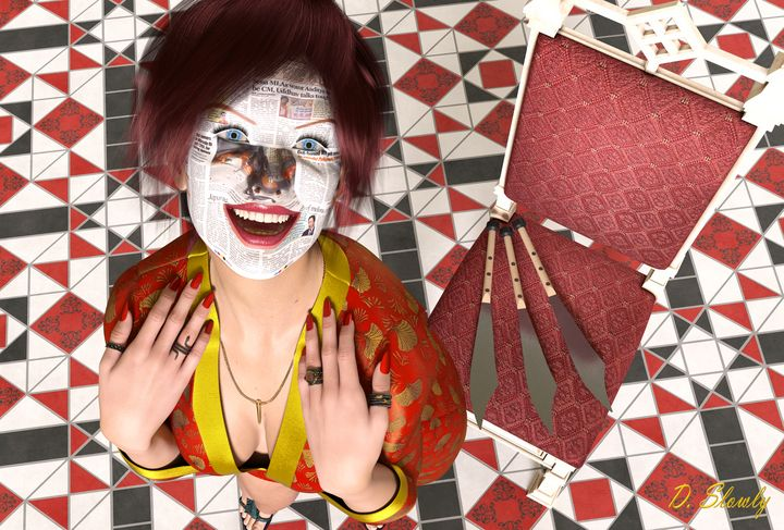 Aniston Portrait - GalleryGazers