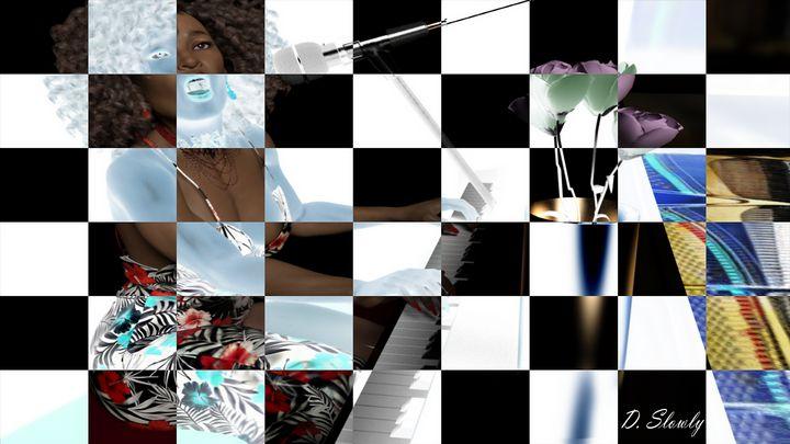 Last Song-Checkerboard - GalleryGazers