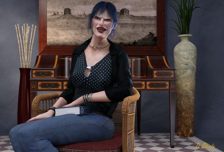 Marnie Portrait - GalleryGazers
