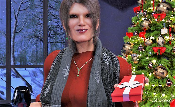 Ragna Celebrating Christmas - GalleryGazers