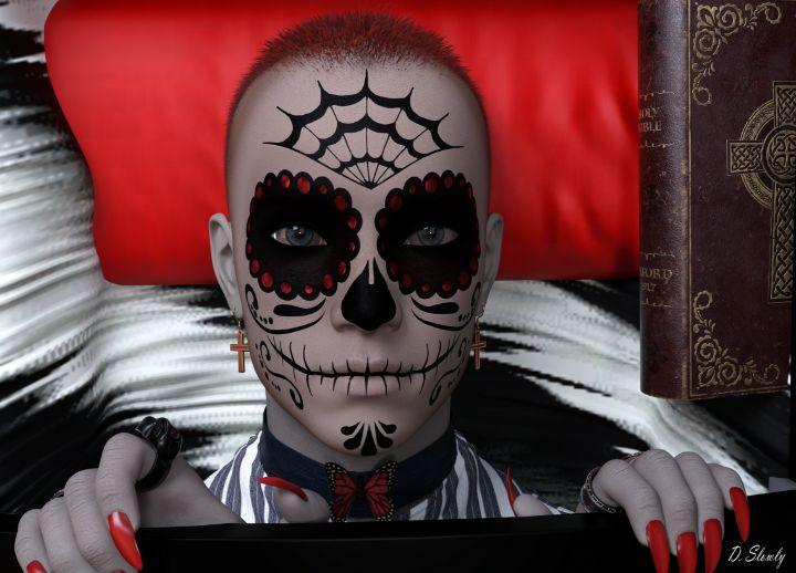 Death Mask - The Juggler - GalleryGazers