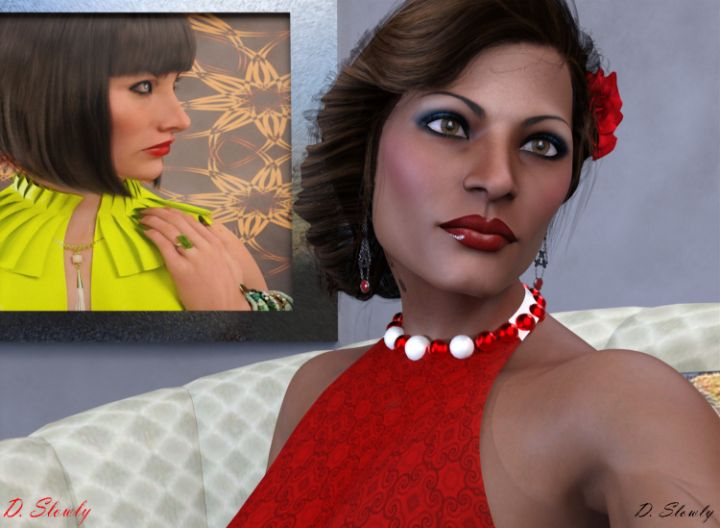 Portrait Enya - GalleryGazers