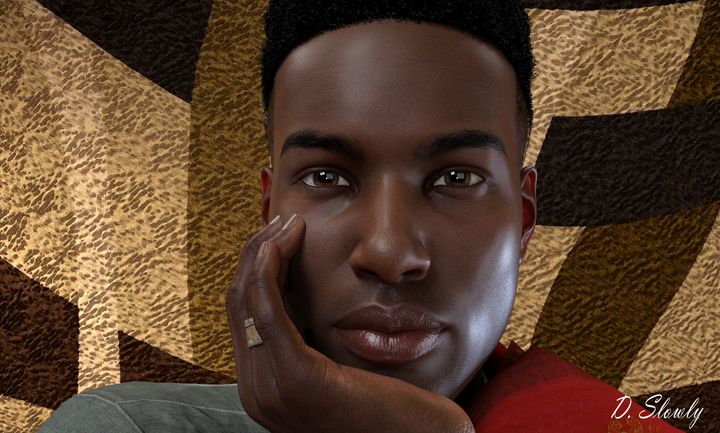 Baldwin Portrait 2 - GalleryGazers