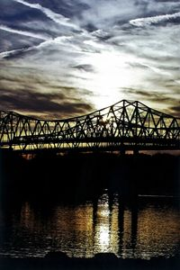 Suspension Bridge over the Tennessee