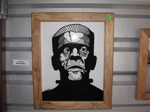 Frankenstein Shadow Box