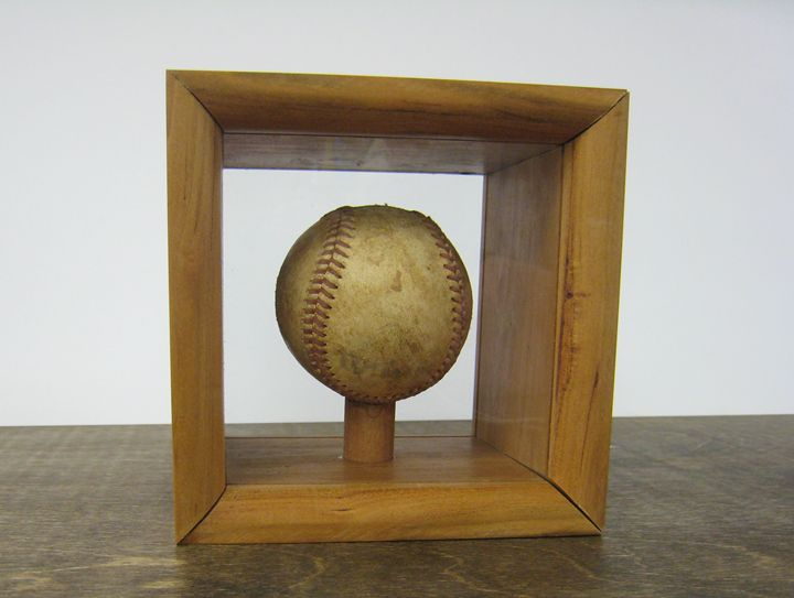 Baseball Shadow Box - Woodtech Creations