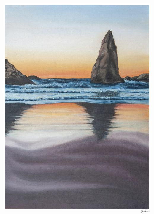 Sunset Shadow - Jayde Stevenson Art
