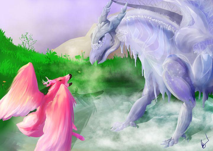 Ice dragon - Halfleaf