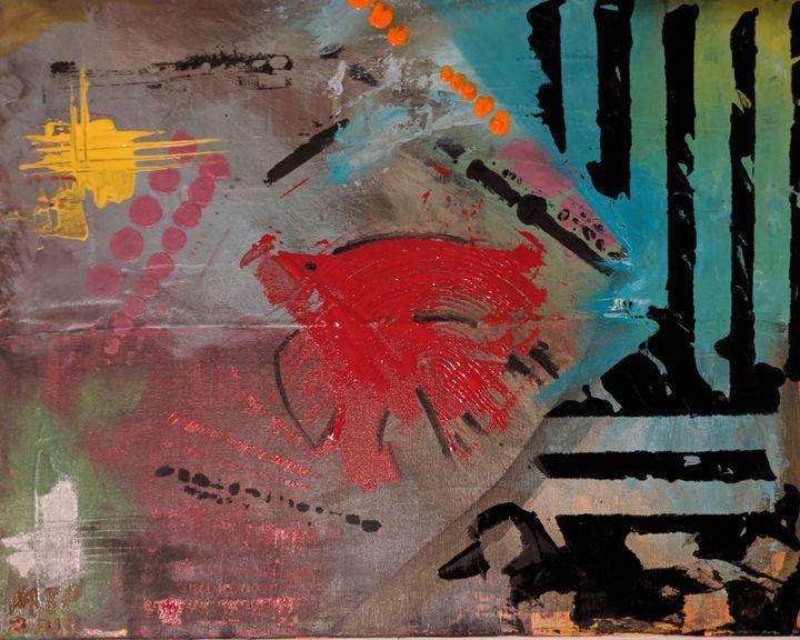 Urban Fish Totem - Nokaoi Art