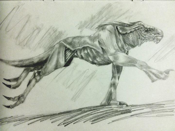 Beast Running - Art