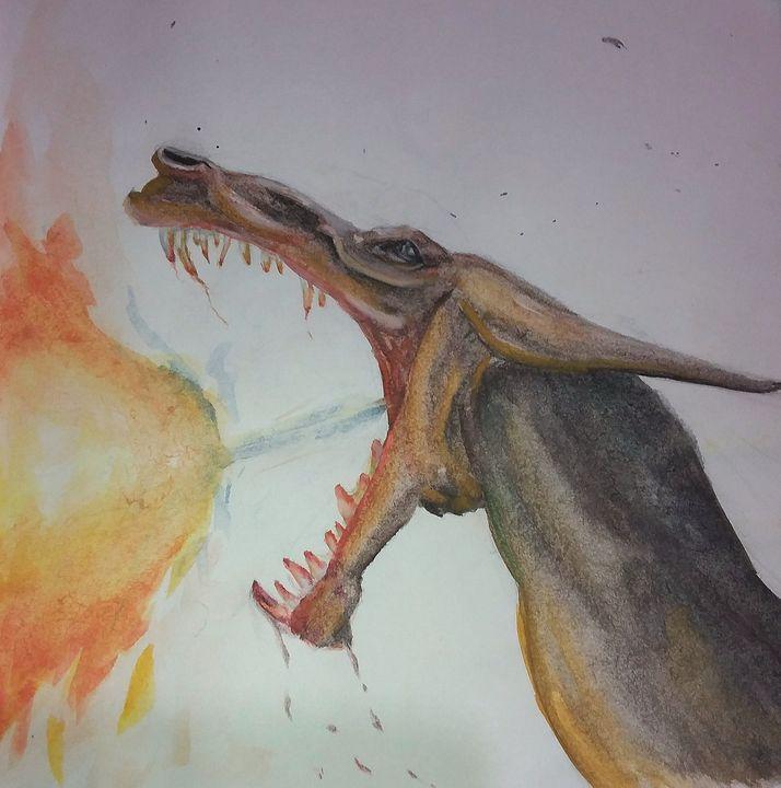 Dragon Fire - Art