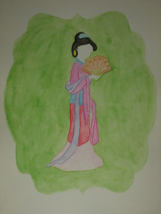 """Mulan"" - Artwork by Lizzy Chmielecki"