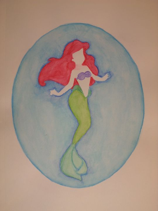 """Ariel"" - Artwork by Lizzy Chmielecki"