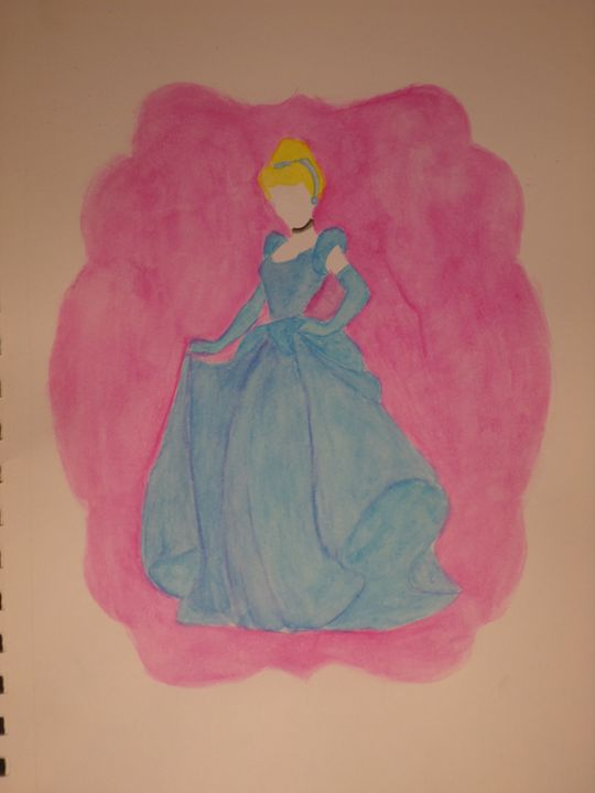 """Cinderella"" - Artwork by Lizzy Chmielecki"