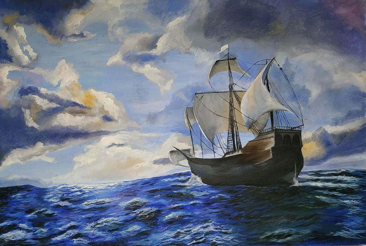 Sailing in solitude - Parth Sathe