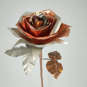 Copper and aluminum rose