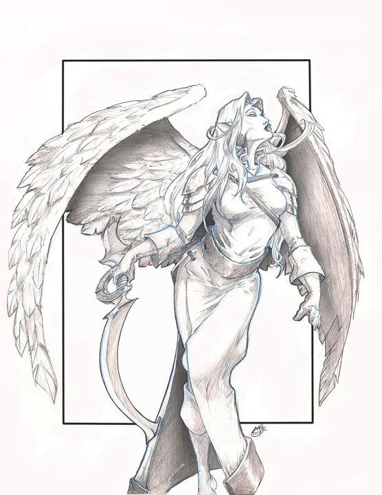sky elf perfect storm gallery drawings illustration fantasy