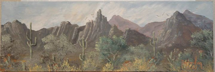 Saw Tooth Mountains - Jim Jordan Fine Art