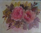 Pink Rose and Poppy2