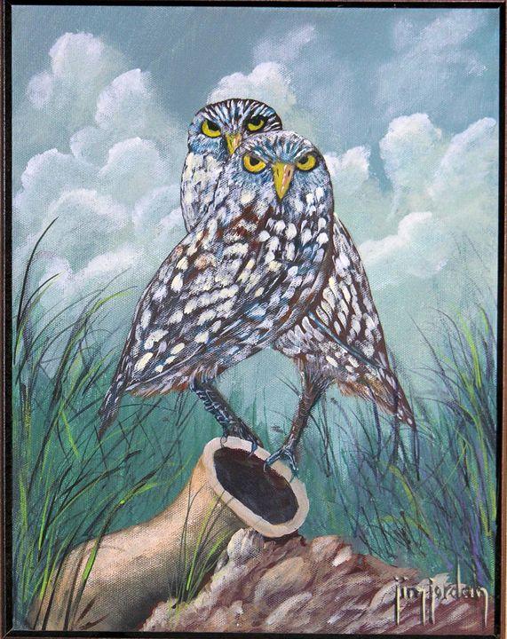 Desert Watchers - Jim Jordan Fine Art