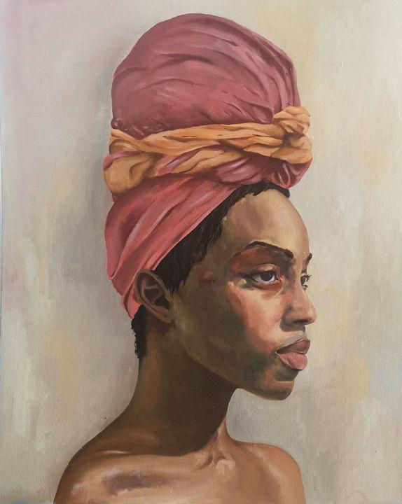 Woman with Turban - Silvia Buonocore