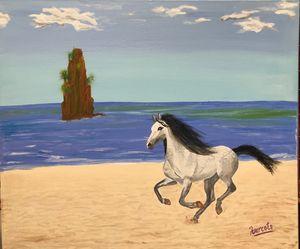 'Horse on the Beach'
