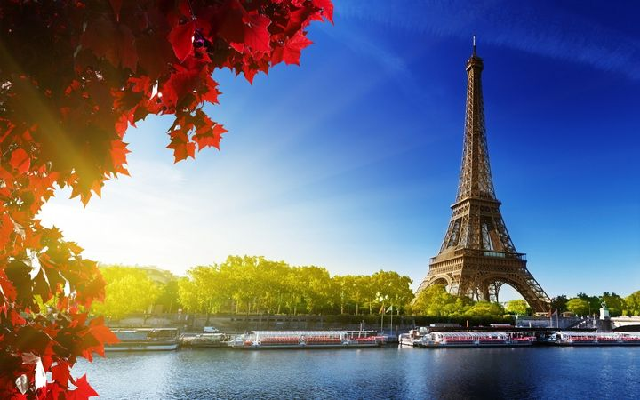 Eiffel Tower Wallpaper,Panting HD - Ahsan Khan Arts