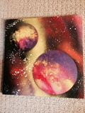 12x12 Stretch Canvas Spray Paint