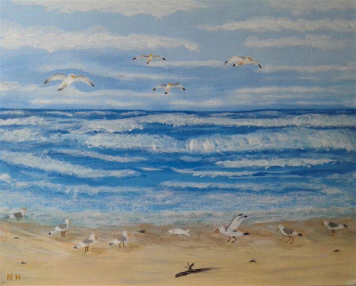 Day at the beach - ArtBrush ( Nora Harwood )