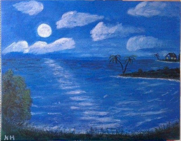 Moon Glow - SOLD - ArtBrush ( Nora Harwood )