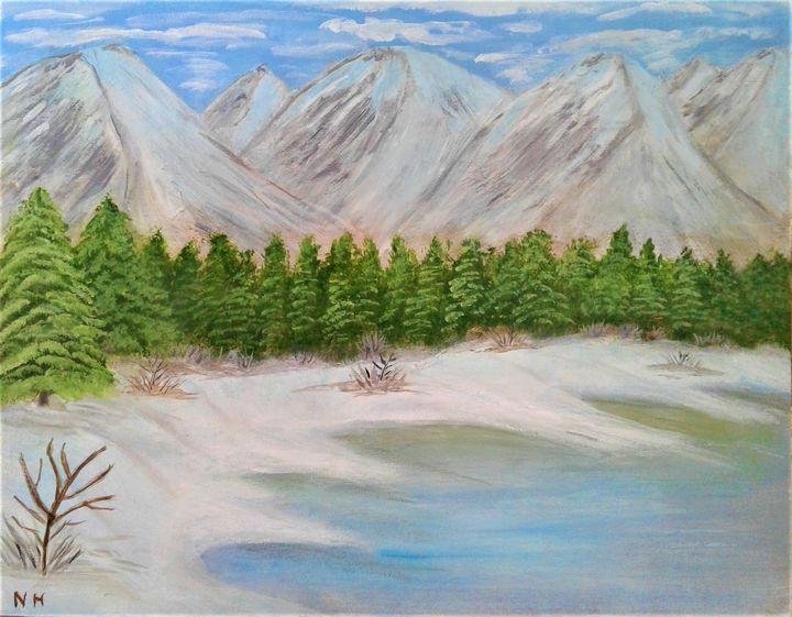 Majestic View - ArtBrush ( Nora Harwood )