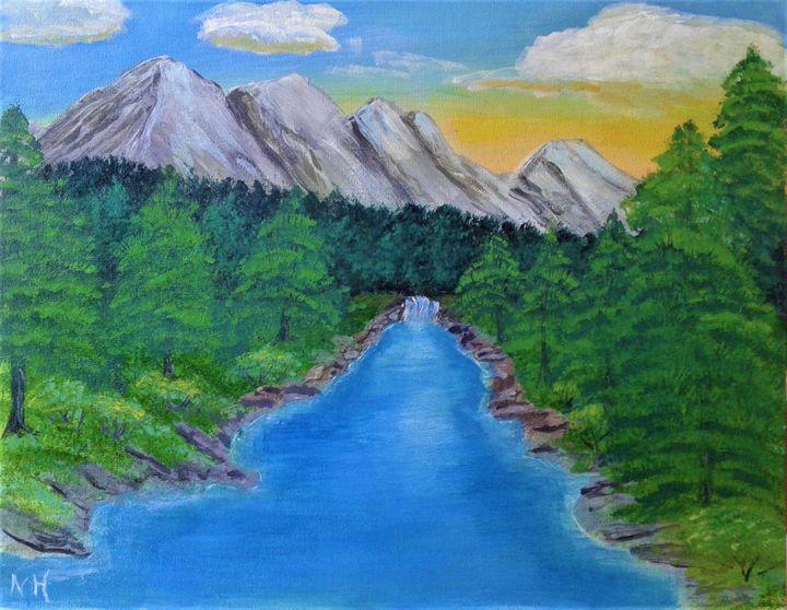 Spring Mountain - ArtBrush
